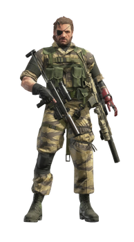 Big Boss Deploy Stance Render by The-Blacklisted