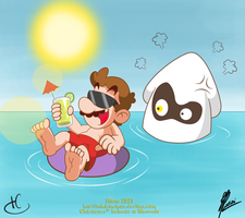 Summer Vacation OH WAIT! by MKDrawings