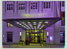 Hotel in Berlin 3D ::: HDR Anaglyph Stereoscopy by zour