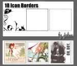 10 Icon Borders by thexunknown