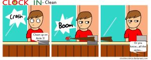 Clean by clockincomics