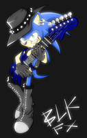 Neo Sonic Underground: Sonic by RouletteObsidian