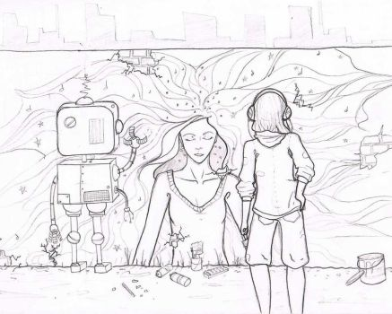Robot Wish -unfinished- by Storms-shadow