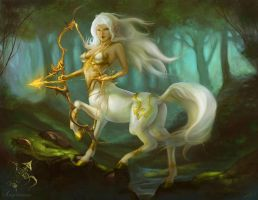 Sagittarius by The-SixthLeafClover