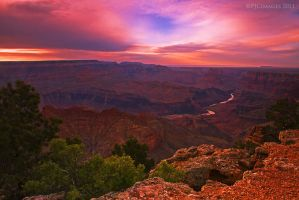 Desert view last light by PeterJCoskun