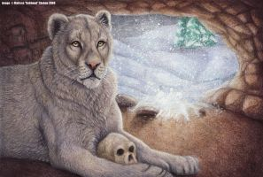 The European Cave Lion by Art-of-Sekhmet
