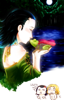 Once upon a time an asgradian prince kissed a frog by MicoSol