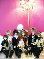 Doll Gather by Cvy