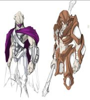 Protoss Animated Concepts by GnaReffotsirk