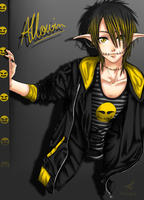 Allowin ( new style ) *oc* by x-Chibi-Chan-x