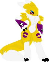 Digimon: Renamon by TigerWithWings