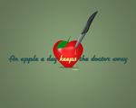 An apple a day... by twodts