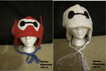 Baymax Hats by bigtimetransfan27