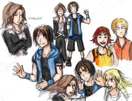 Genderbend Final Fantasy 8 pt1 by Jassikorandoms