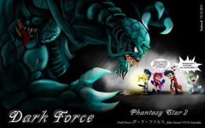 Dark Force - Phantasy Star 2 by seijiwolf