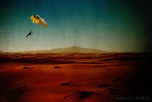 around the world - dunes by Aimelle