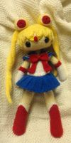 Sailor Moon Crochet by MercuryDemosthenes
