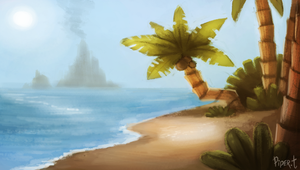 DAY 95. Island (25 Minutes) by Cryptid-Creations
