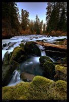 Deschutes River Chute by wafox