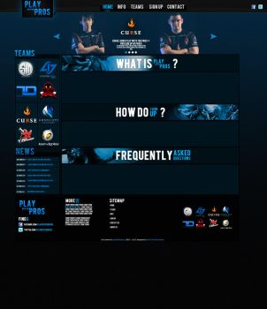 Playwpros site by SamHexo