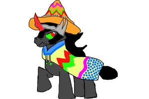 King Sombrero by MissLuckychan29