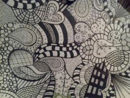 My First Zentangle. by xojulialeeox