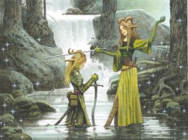 Shadowmoor Elves by bridge-troll