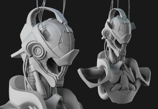 Robot WIP by laloon