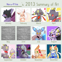2013 Art Summary by Naru-pika