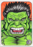 hulk sketch card by chrisfurguson