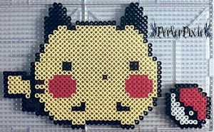 Rolly Polly Pikachu by PerlerPixie