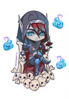 WoW - Chibi Death Knight by Gianara