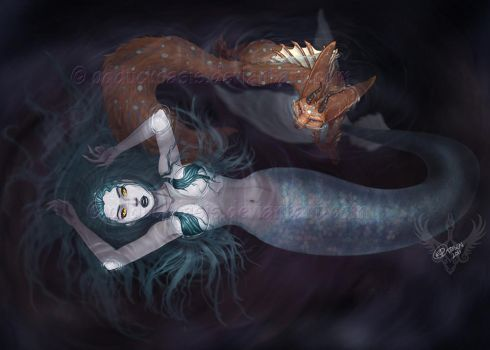 - The Depths - by odduckoasis