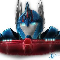 Gift: Ultra magnus headshot by MNS-Prime-21