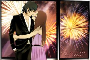 Obito and Rin: Forever and always... by Lesya7