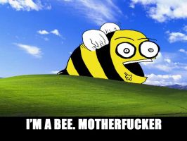 I'M A BEE. MOTHERFUCKER by LarsEliasNielsen