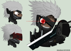 Metal Gear Pony: Revengeance - Raiden by ArdonSword