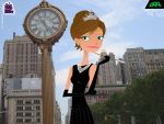 Caitlin Cooke as Holly Golightly by daanton