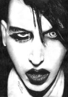 Marilyn Manson by BorisKoci