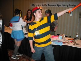 Kumoricon 2009: Ness by Red-Supernova64