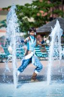 Korra Cosplay - Waterbending by the-mirror-melts