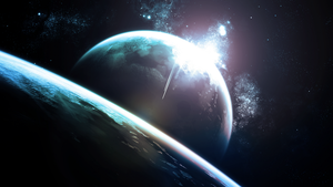Another Planet System (Wallpaper) by Hardii