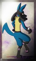 The View Behind Lucario by Dripponi
