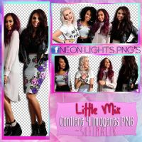 Photoshoot LM -NeonLightsPNG'S by SoffMalik