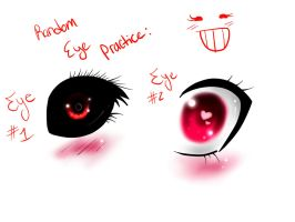 eye practice by SweetBunni
