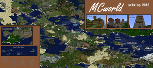 New MCworld Map! by Axlwisp
