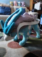 Giant Suicune Plush 1 by NewTypeOne