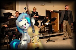 Vinyl Scratch Pulled Off At My Jazz Concert by BCMmultimedia