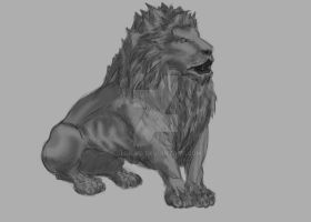 Lion by Gleb-Vo