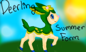 Summer Deerling by The-Insane-Puppeteer